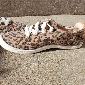 Roxy Bayshore Cheetah Print Shoes